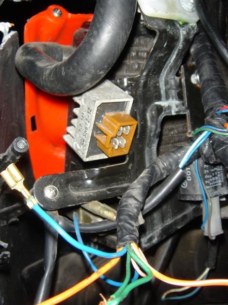 voltreg voltage regulator wiring help needed '02 sr50 ditech